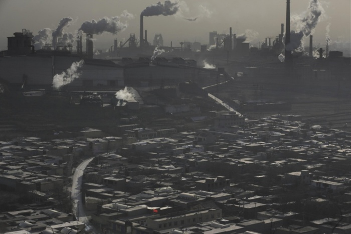 Pollution in Hebei, China (Source: National Geographic)