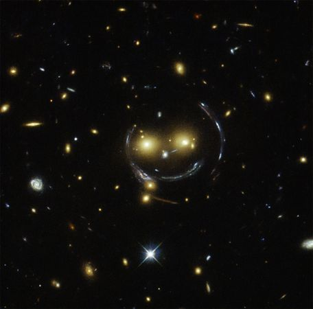 Space Smiley Face