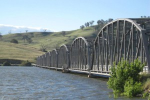 Hume dam was at capacity in 2012 but the storage is now at 35 per cent