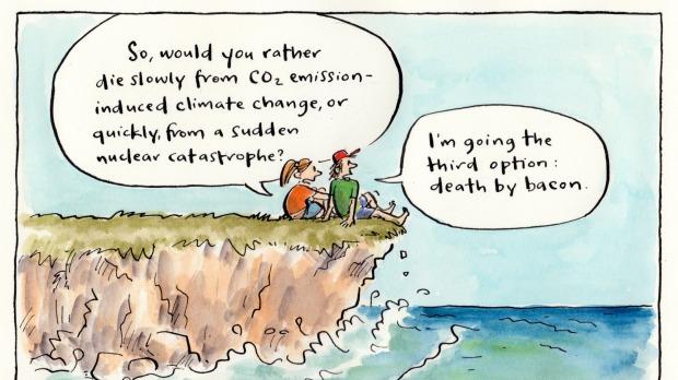 Cartoon - Perils of life