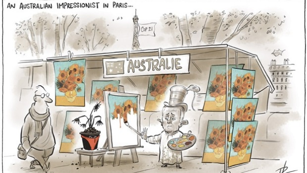 Cartoon - COP21 Australia