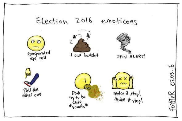 Cartoon - 2016-elections