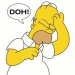 Homer Doh!