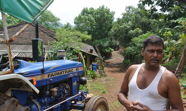 Farmer Ramu Gaviti. Photograph: World Agroforestry Centre