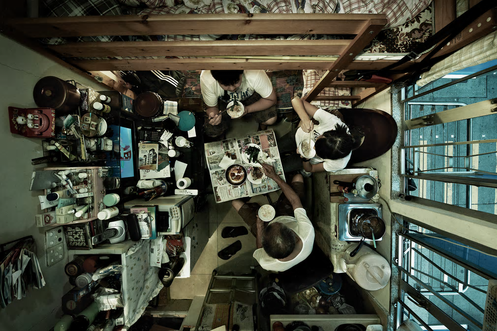 Trapped 04, by Benny Lam from Series: Subdivided Flats, 2012, Hong Kong. Photograph: Benny Lam