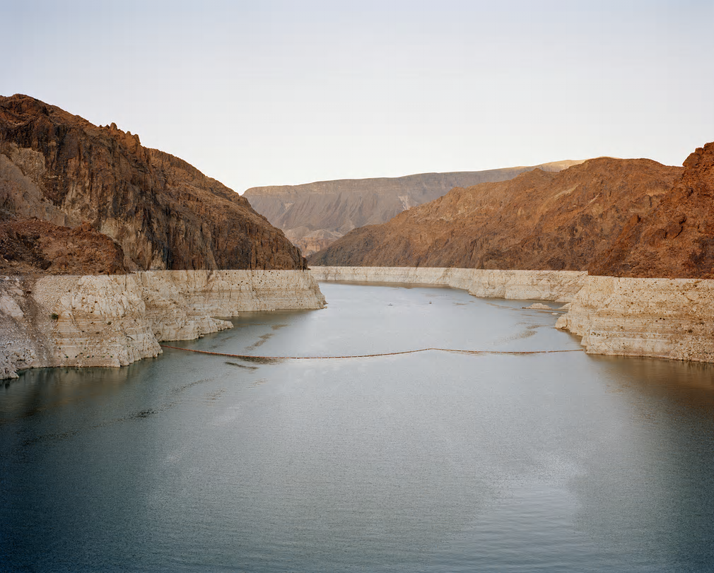 Lake Mead, Hoover Dam. Nevada, USA, 2015.  Photograph: Mustafah Abdulaziz