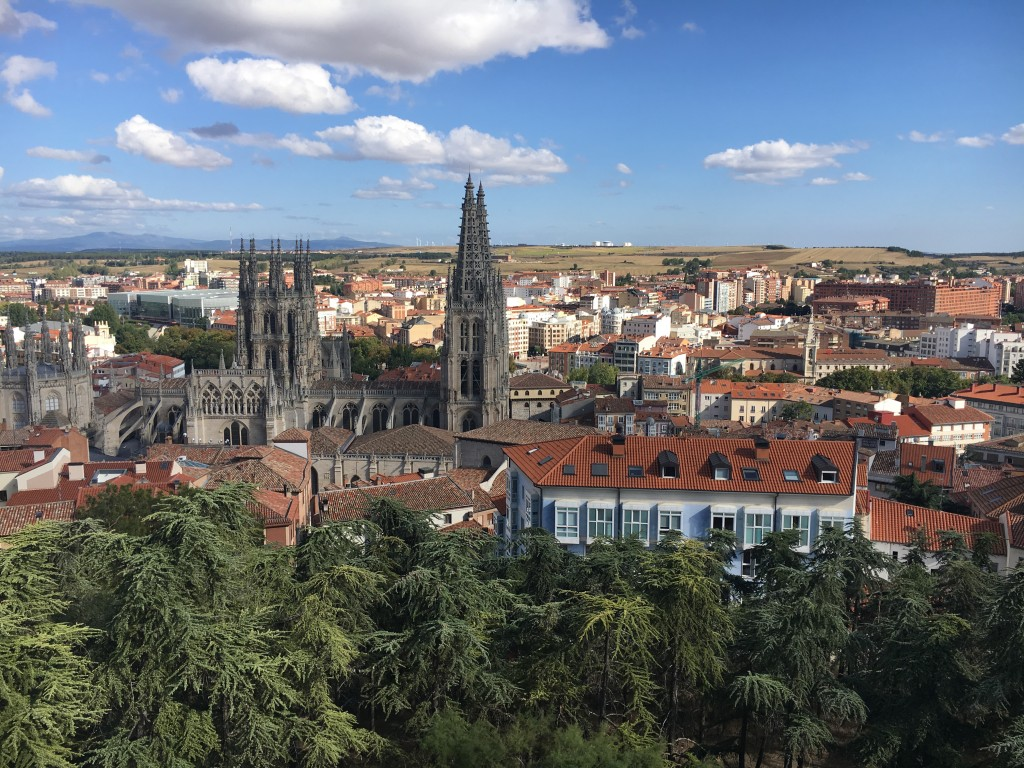 View over Burgos from the Castle.