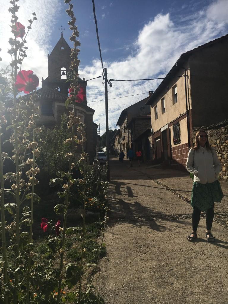 The pretty village of Rabanal del Camino.