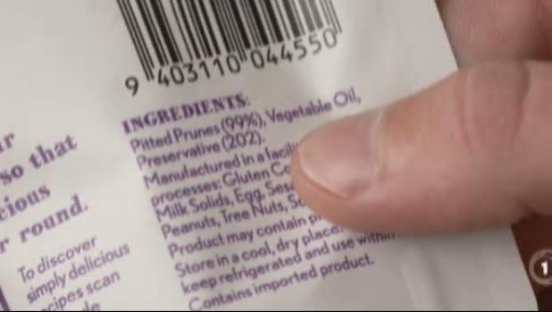 Palm oil can be obscured under as many as 200 different names, most commonly vegetable oil and including palm kernel oil, palm fruit oil, hydrogenated palm glycerides, sodium kernelate and Elaeis guineensis.