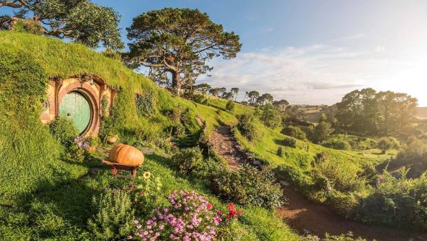 Tourists who visit Hobbiton Movie Set will now leave behind only their footprint, as the attraction has made major efforts to be more sustainable. Photo: Hobbiton Movie Set