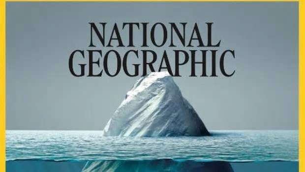The National Geographic cover image was shared by the magazine's senior photo editor Vaughn Wallace on Twitter. Photo / Twitter