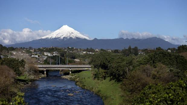 Taranaki will be divided into pizza-slice shaped sections with pests eradicated from each section in turn. Photo: Andy Jackson/Stuff