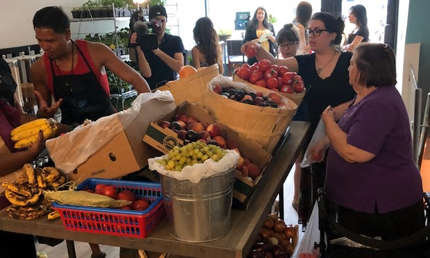 North America's first pay-what-you-can grocer.