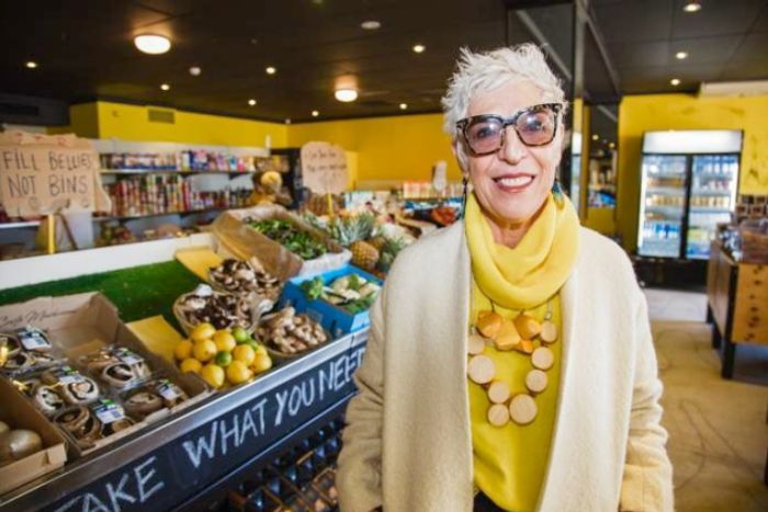 Photo: Ronni Kahn has travelled the world to preach her food waste message. (Supplied: Livia Giacomini)