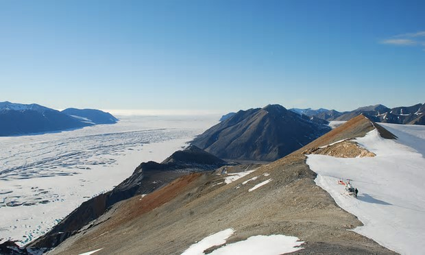 In northern Ellesmere Island, the annual average temperature in the region increased by 3.6C between 1948 and 2016. Photograph: Adrienne White