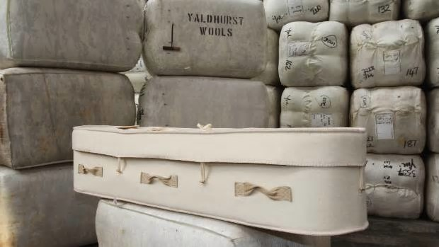 Among the '101 Ways With Wool' will be eco-friendly wool coffins. Photo: Stuff