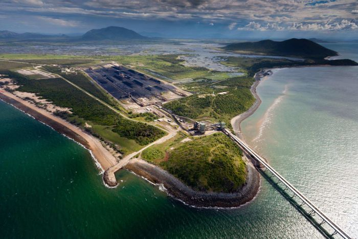 Photo: Abbot Point is located about 25 kilometres north of Bowen on the north Queensland Coast, near the vast coal reserves of the Galilee Basin. (Supplied)