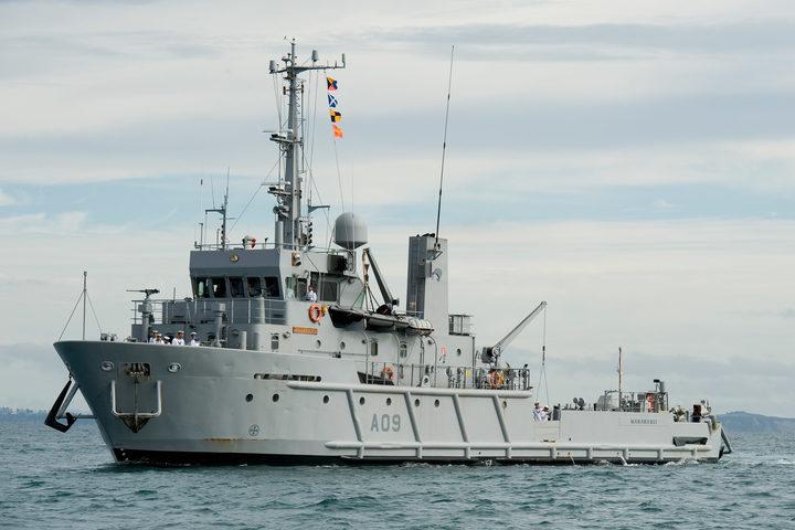 The Manawanui Photo: NZ Defence Force