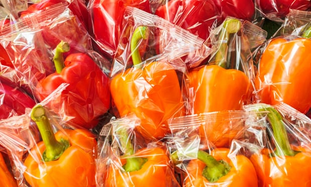Plastic waste, as well as food waste and where food comes from were given as strong reasons to affect purchases. Photograph: DutchScenery/Getty Images/iStockphoto