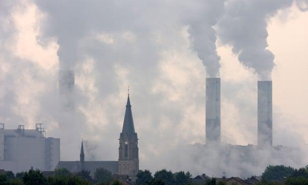 Brown coal power plant in North Rhine-Westphalia. 'Currently global demand for coal, oil and gas are all growing, with fossil fuels accounting for 81% of energy use.' Photograph: Alamy Stock Photo